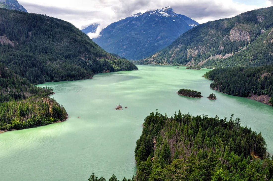 North Cascades Park : Diablo Lake