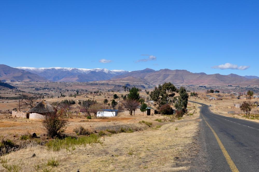 Road to Tsehlanyane National Park