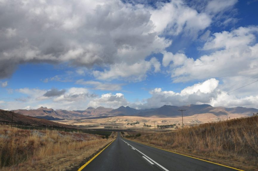 From Clarens to Golden Gate Highlands National Park