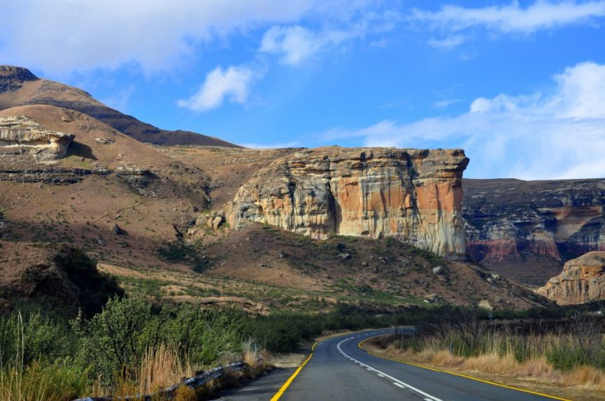 South Africa : Golden Gate Park