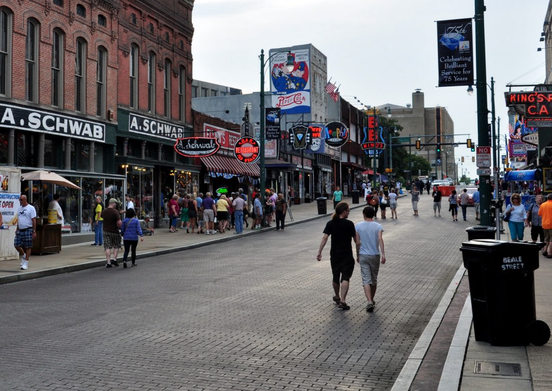 Tennessee : Memphis Beale Street