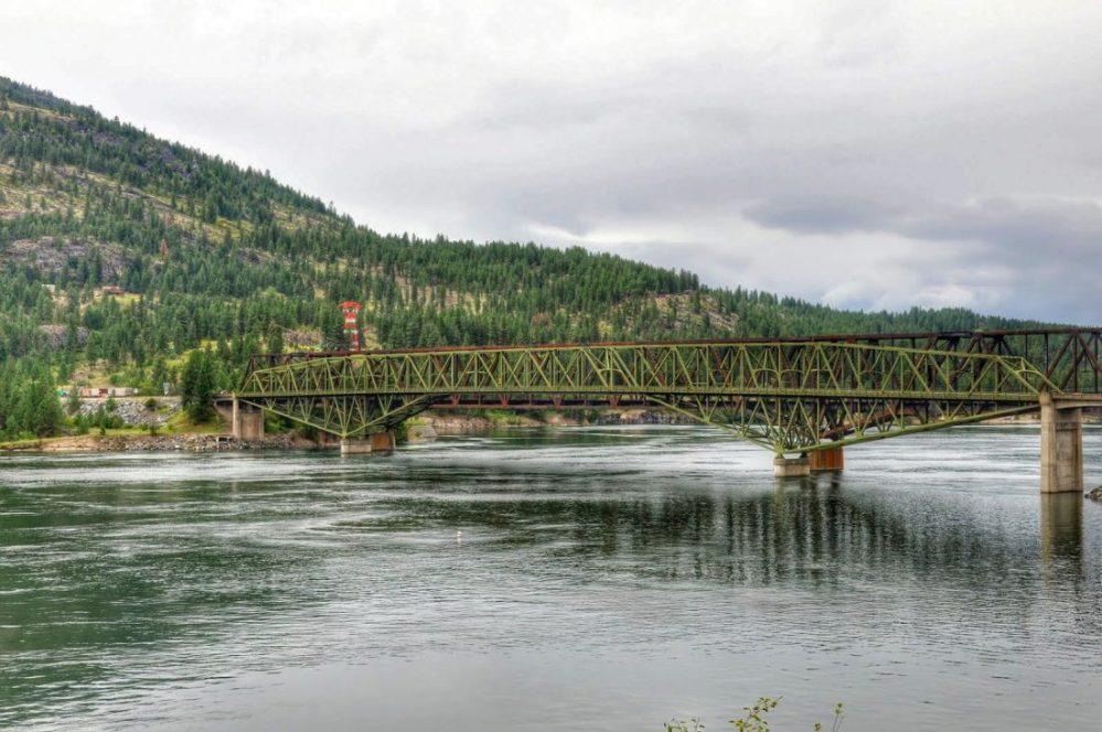 Washington state Kettle Falls