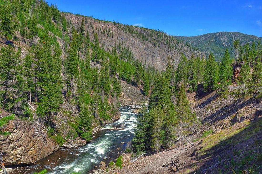 Yellowstone : Firehole river