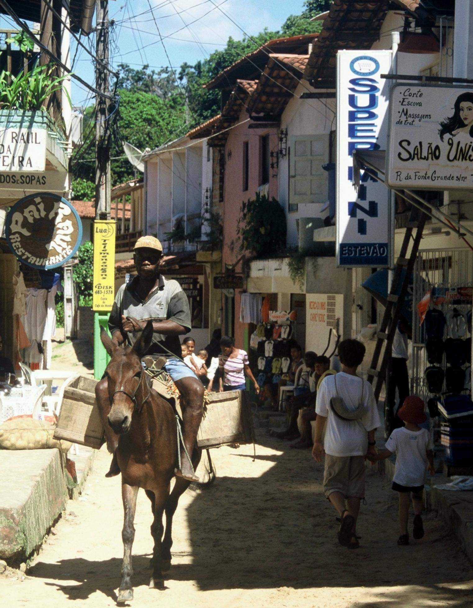 Bahia : ilha de Tinharé Morro de São Paulo