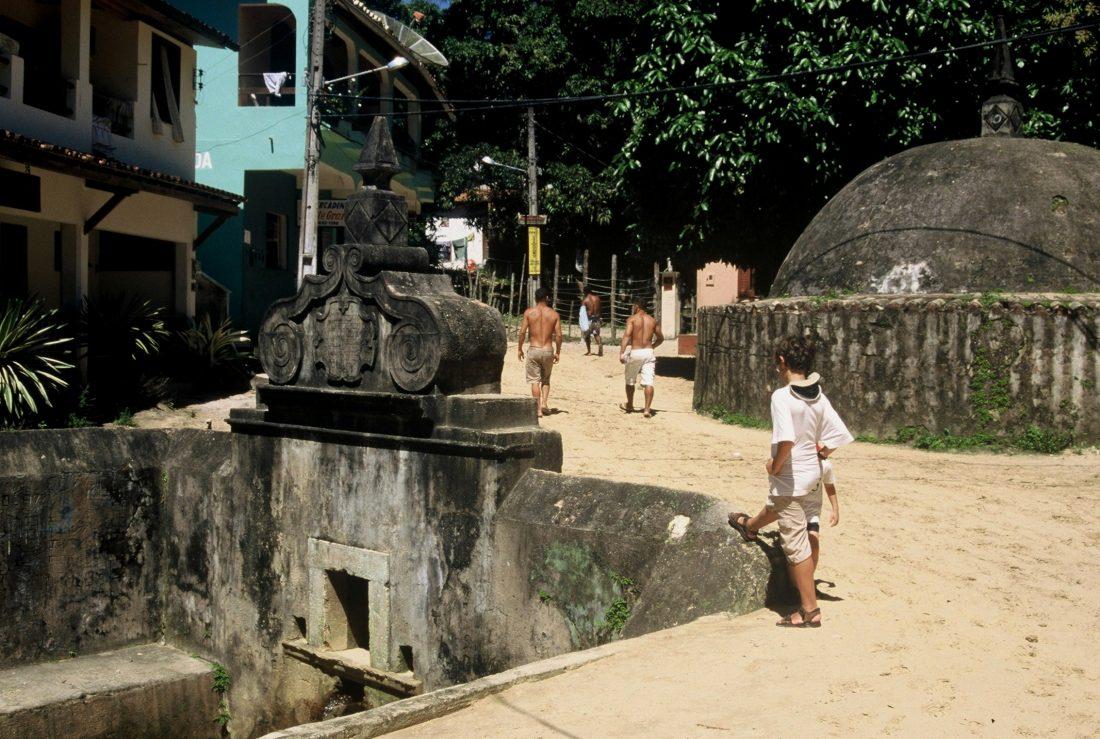 Bahia : ilha de Tinharé Morro de São Paulo Fonte Grande
