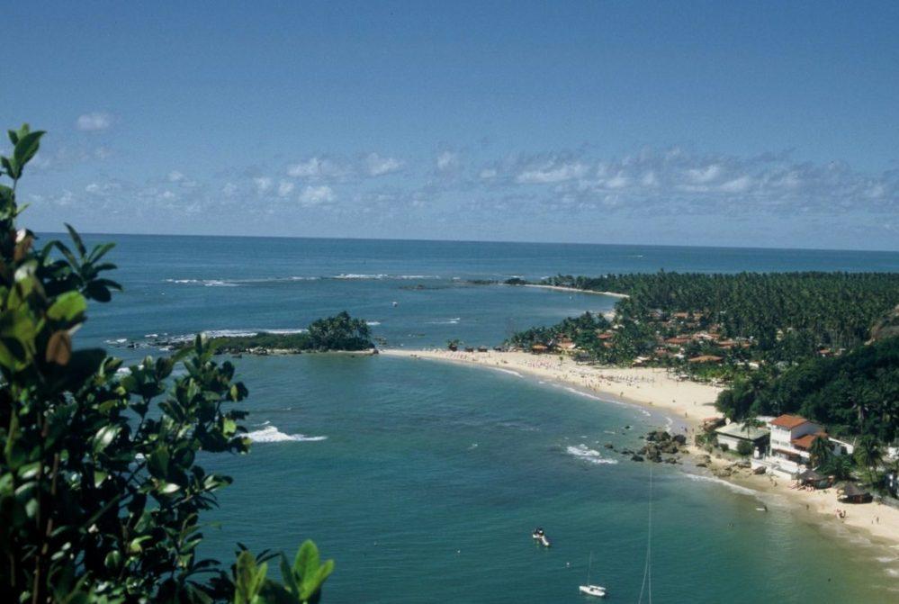 BRASIL BAHIA : ILHA DE TINHARE / CACHOEIRA