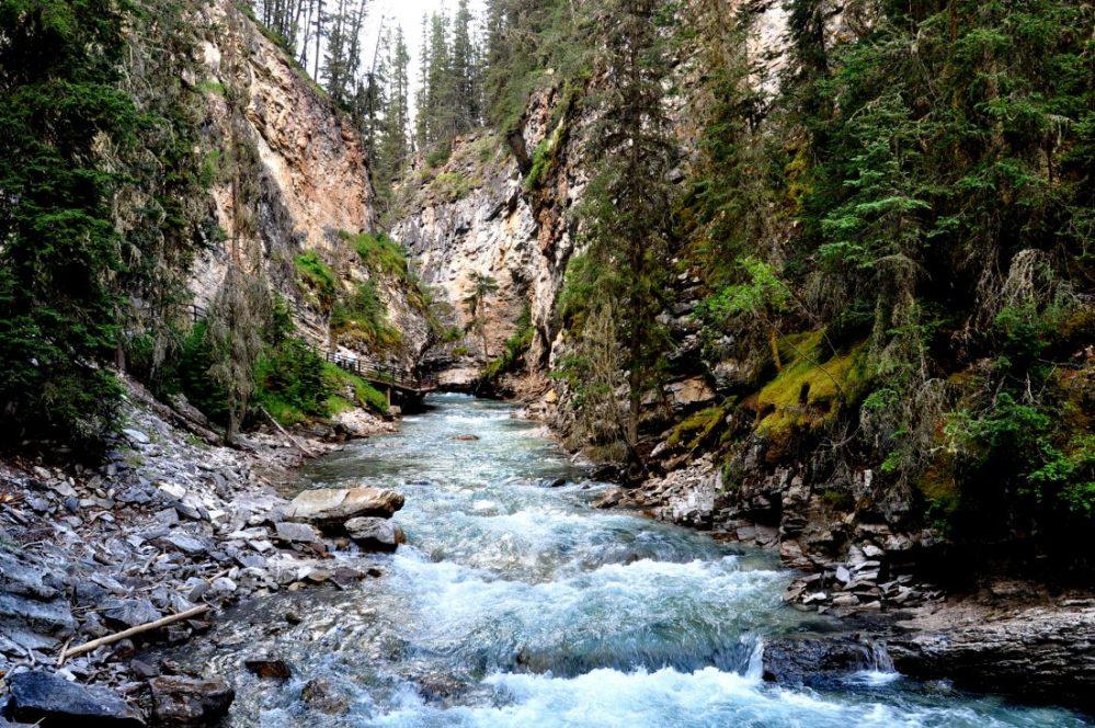 Banff National Park (Johnston Canyon)