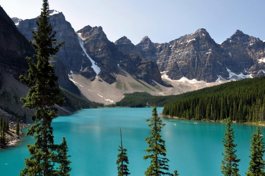 Banff National Park : Moraine Lake