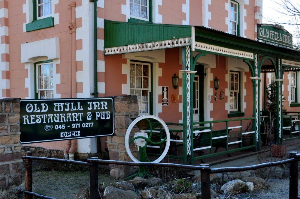 Barkly East : Old Mill Inn Restaurant & Pub