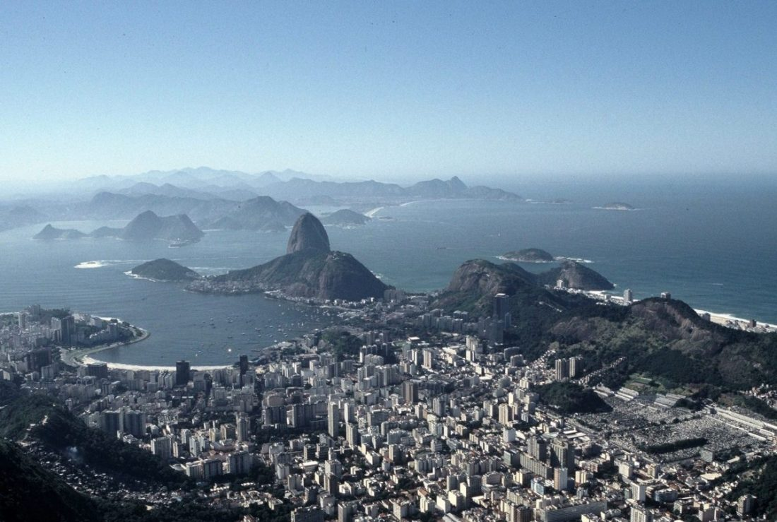 Rio de Janeiro : Vista de Corcovado