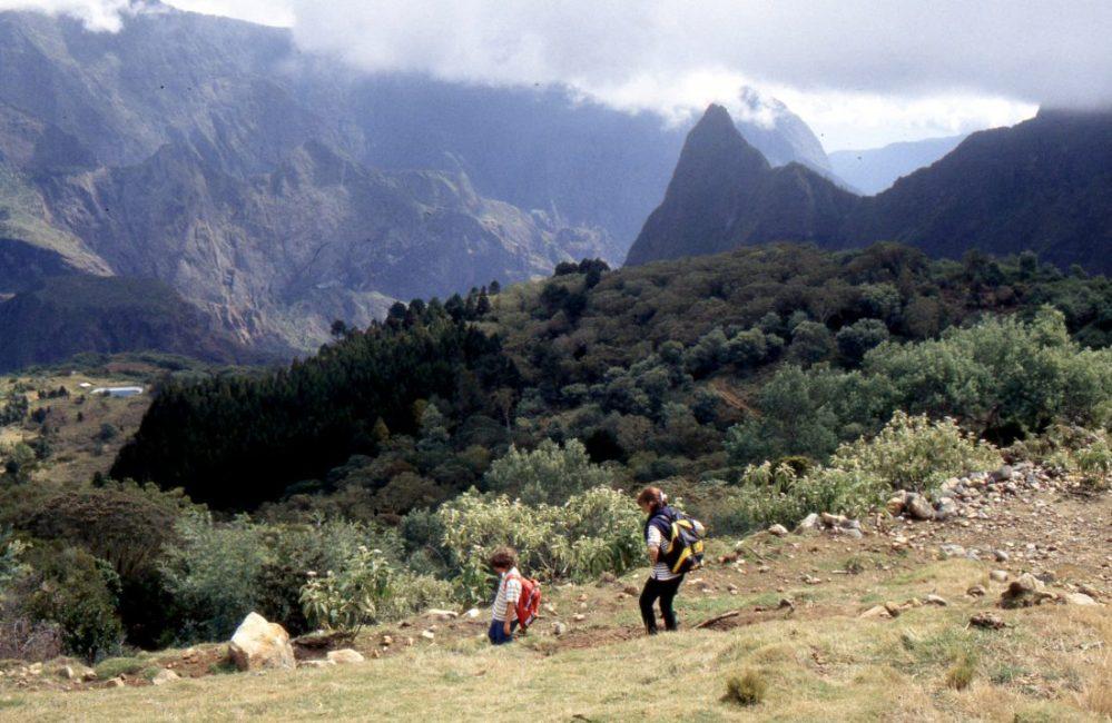 Ile de la Réunion : randonnée Col des Boeux (Salazie) à La Nouvelle (Mafate)