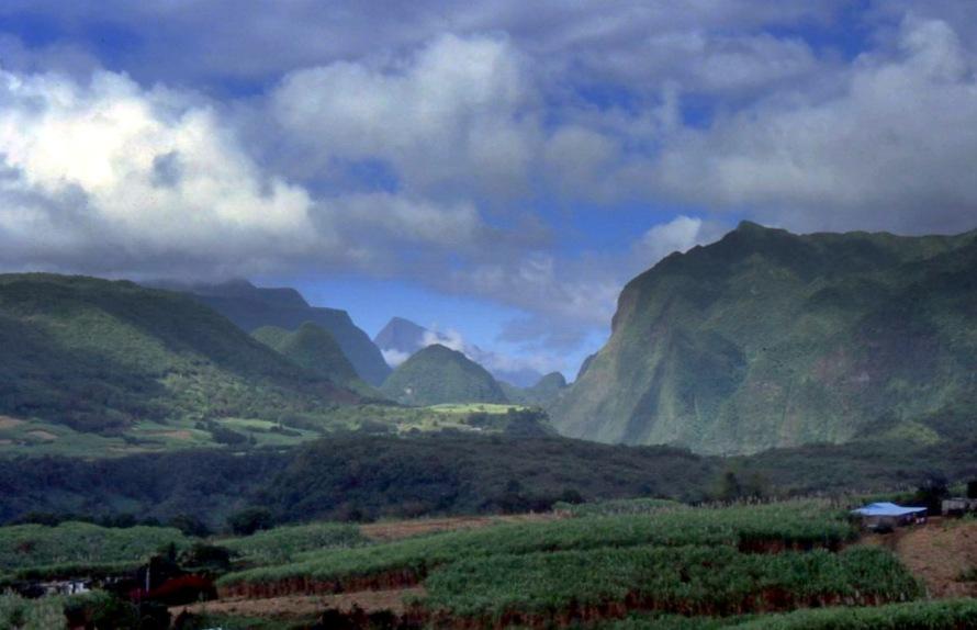 Ile de la Réunion : Entrée du Cirque de Salazie