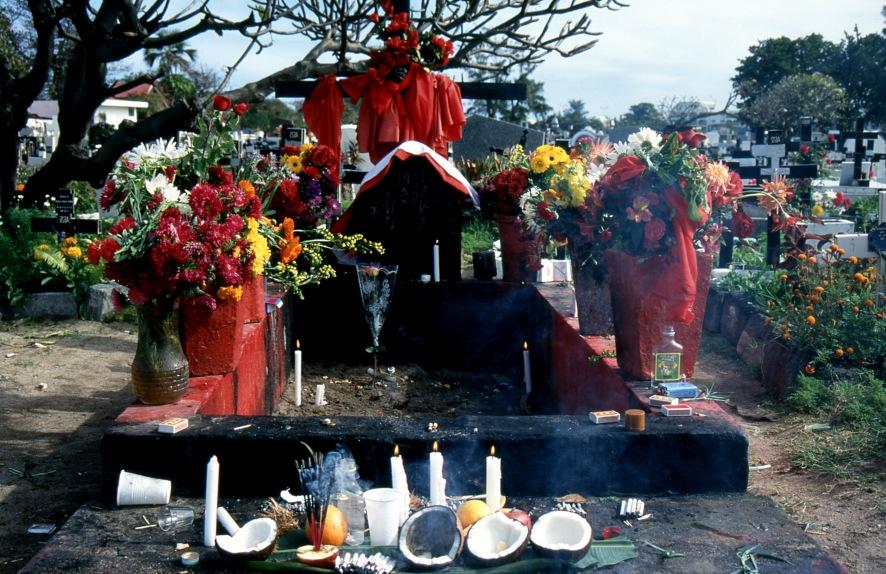 Ile de la Réunion : Tombe de Sitarane