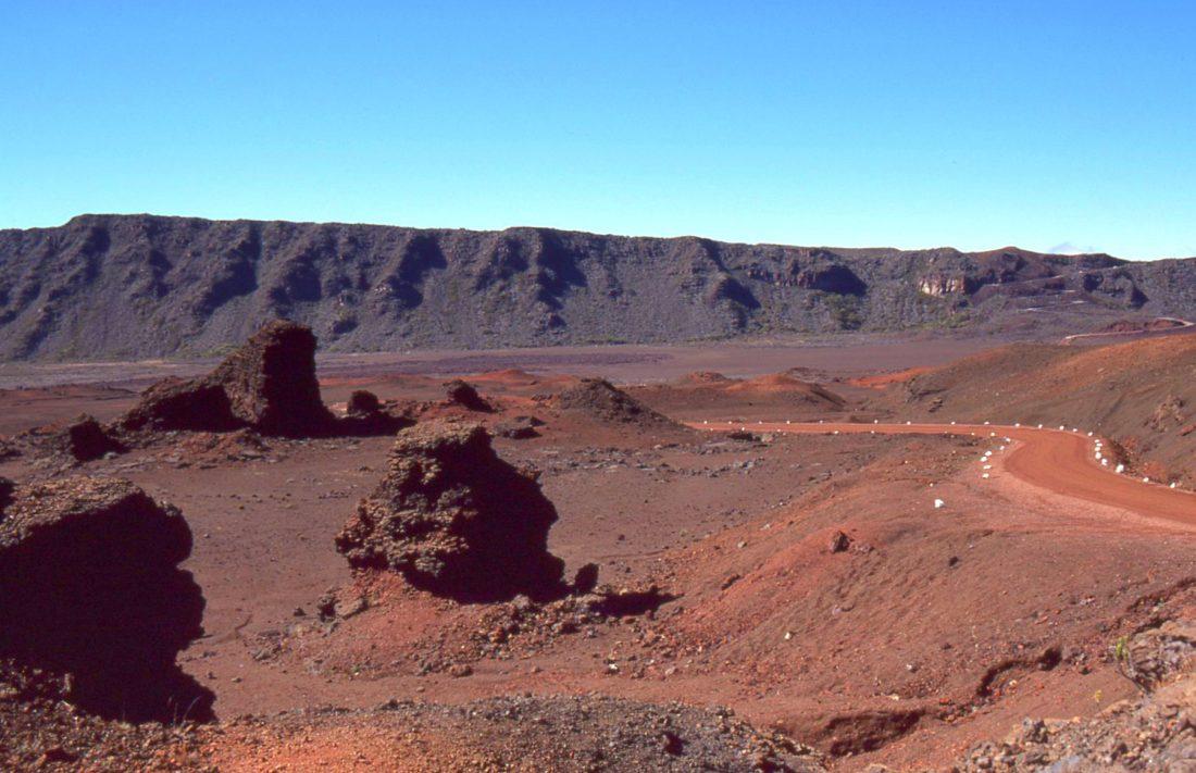 Ile de la Réunion : Enclos du volcan