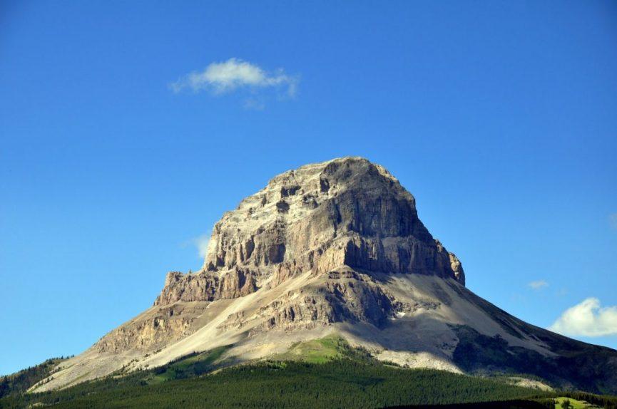 Alberta : Crowsnest Mountain