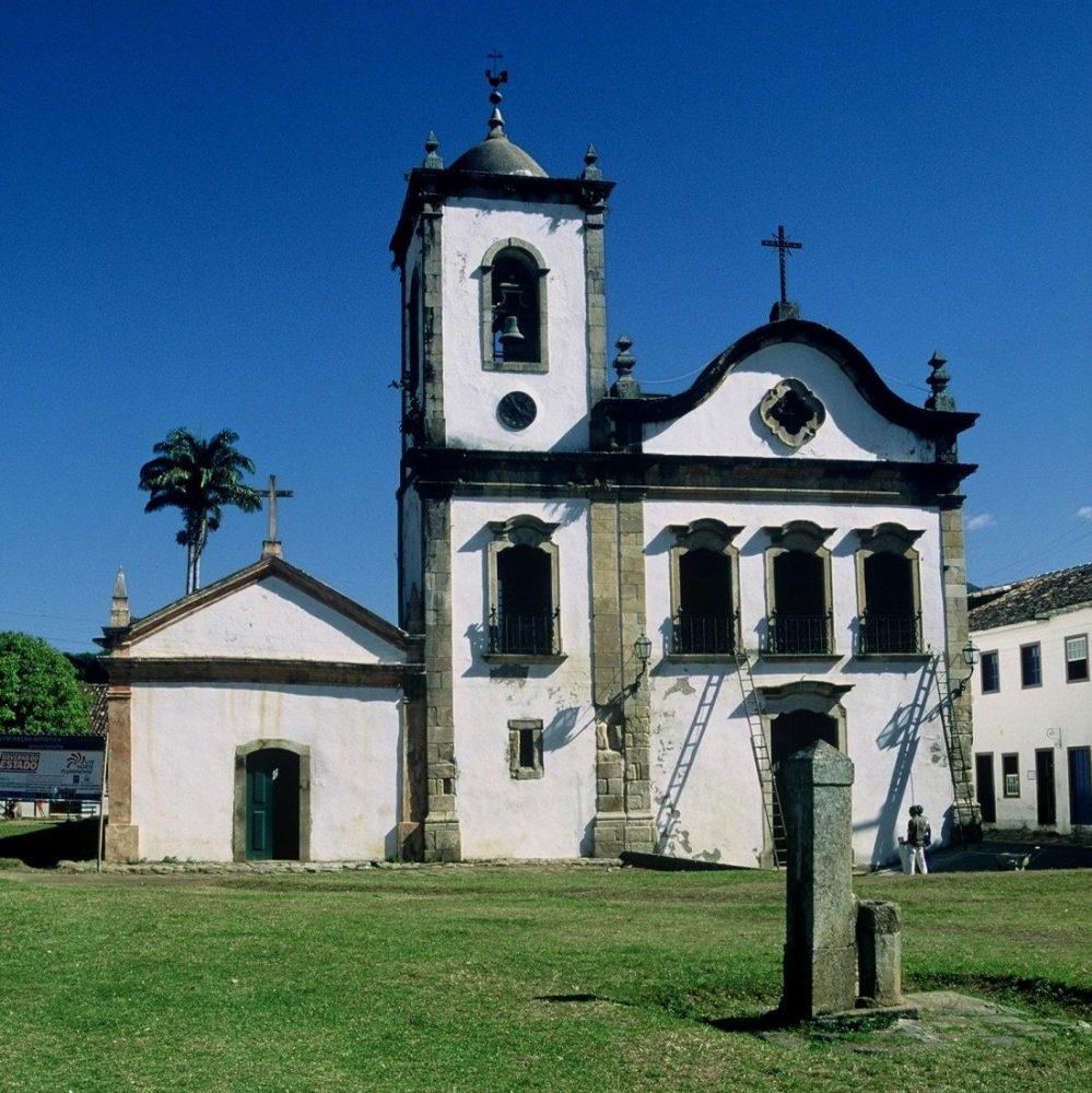 Paraty : Capela de Santa Rita