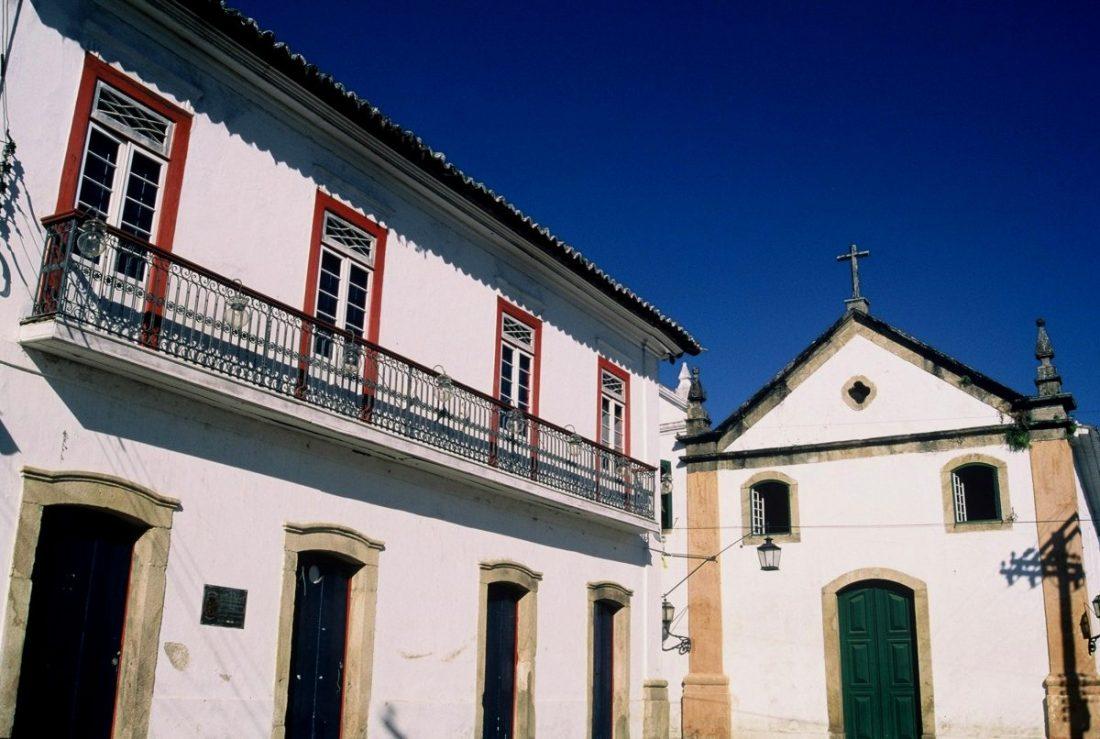 Paraty : Igreja de Nossa Senhora do Rosário