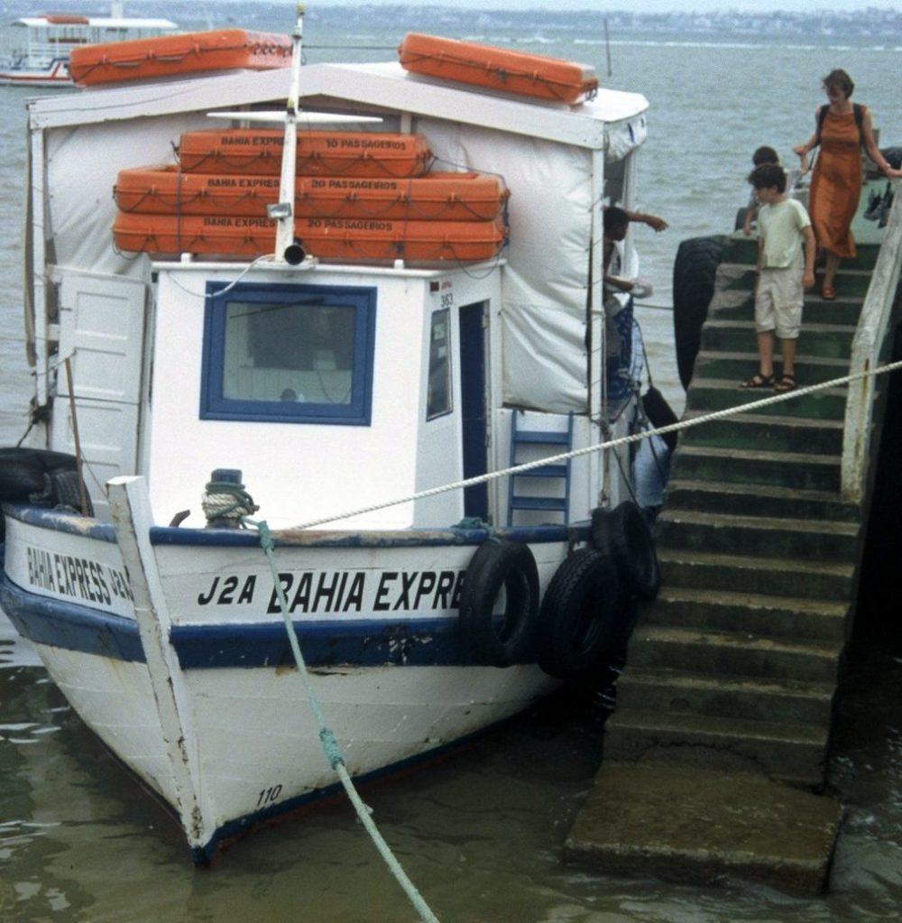Salvador da Bahia : Bahia Express to Ilha de Itaparica