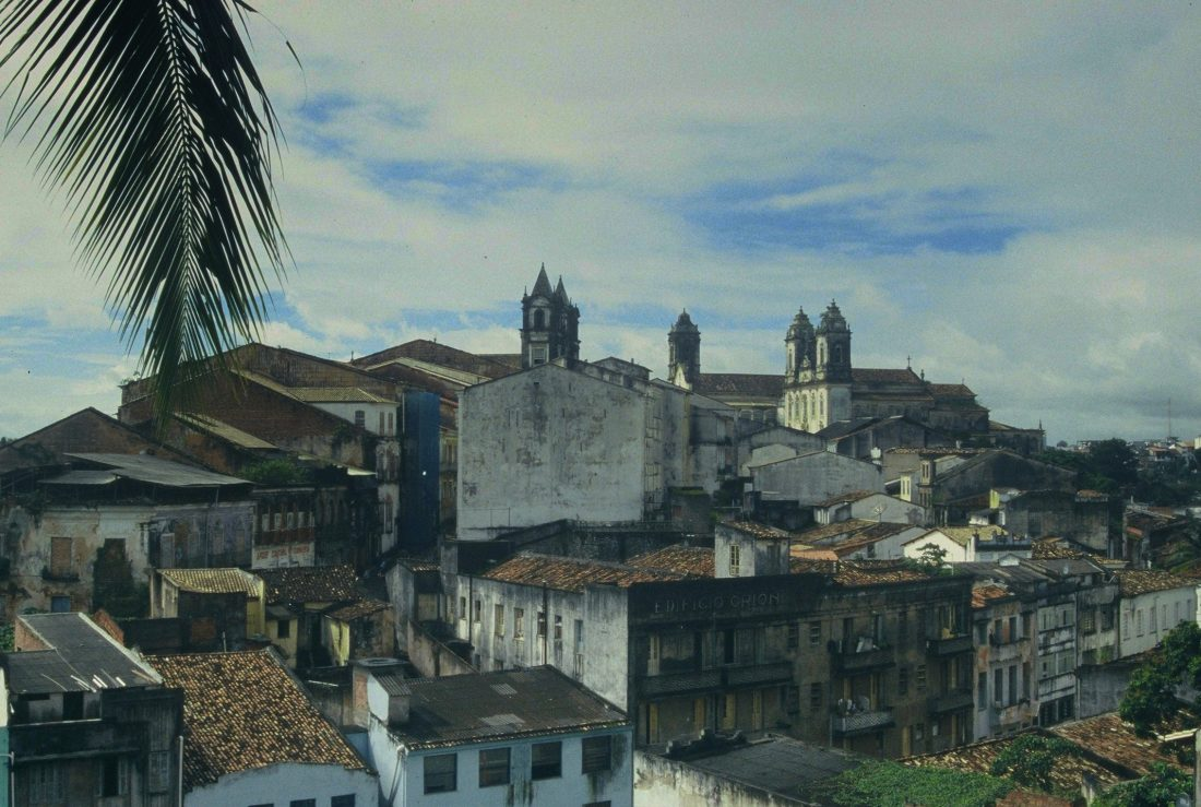 Salvador da Bahia : View from Hotel Pelourinho