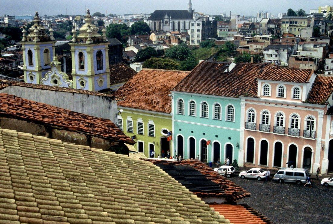 Salvador da Bahia : View from Hotel Pelourinho