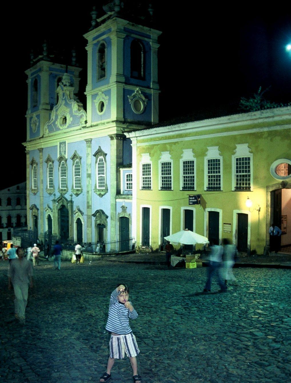 Salvador da Bahia : Church of Our Lady of the Rosary of the Blacks