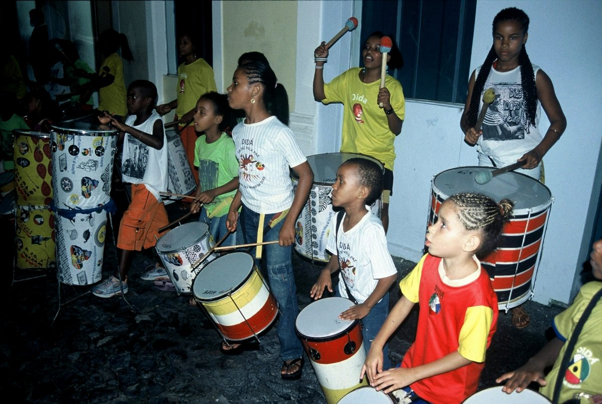 Salvador da Bahia : Pelourinho Olodum