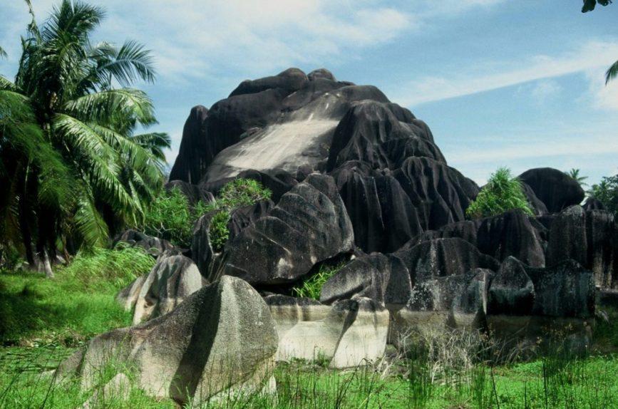 La Digue : Pointe Belize