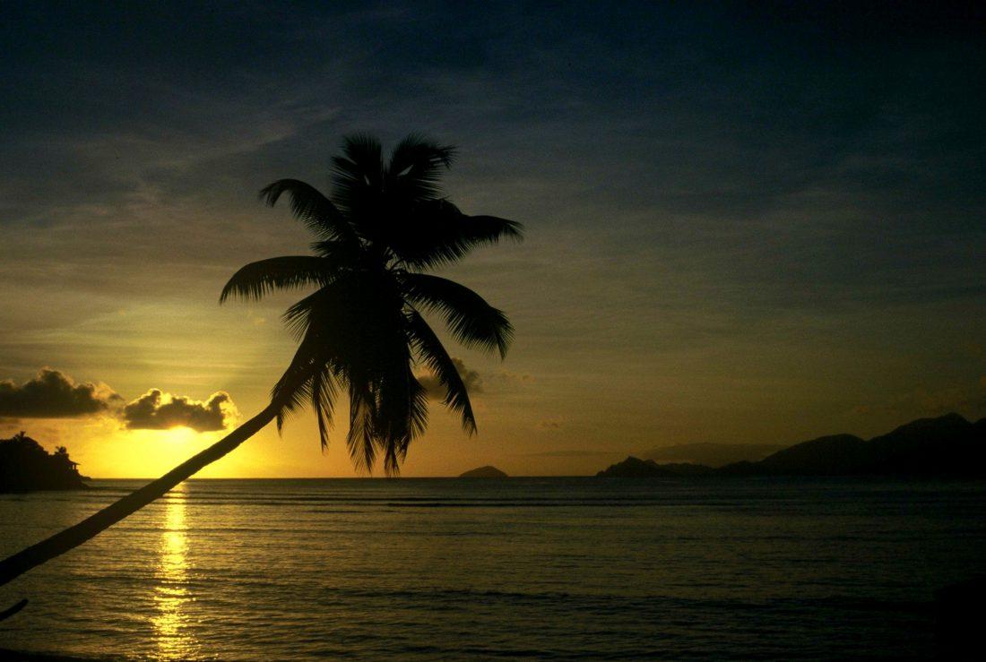 Seychelles : Mahé Sunset