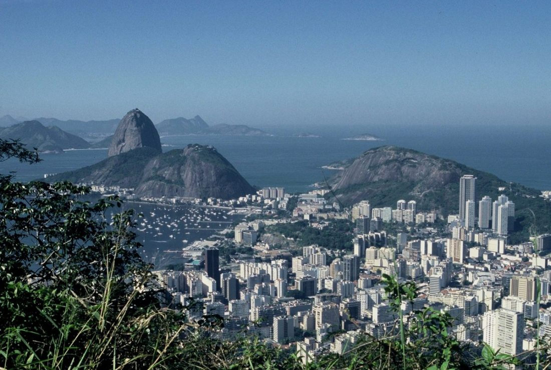 Rio de Janeiro : Andar de Santa Teresa para Corcovado