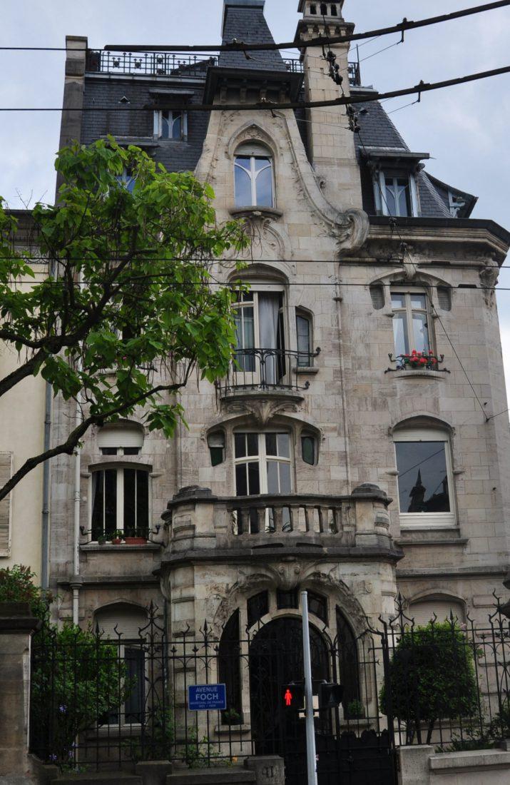 Nancy Art Nouveau : Maison du Docteur Jacques (41 Avenue Foch)