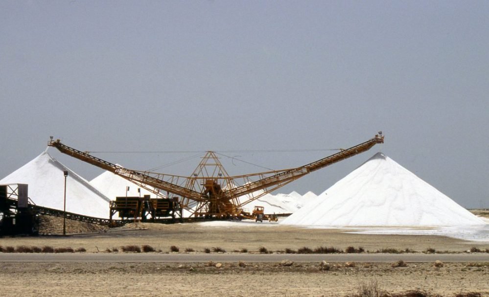 Bonaire : Cargill Salt Works