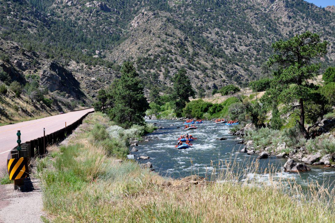 Colorado : Scenic Drive Highway 50 (Arkansas River)