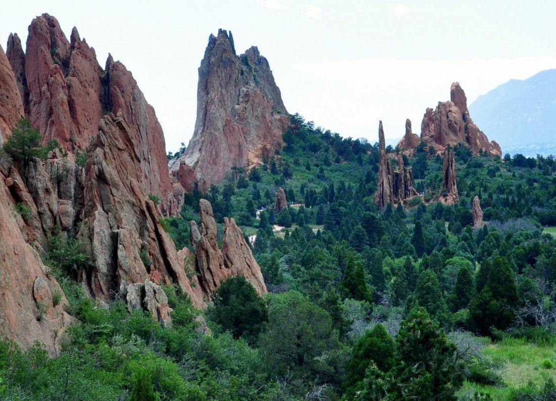Colorado : Garden of the Gods