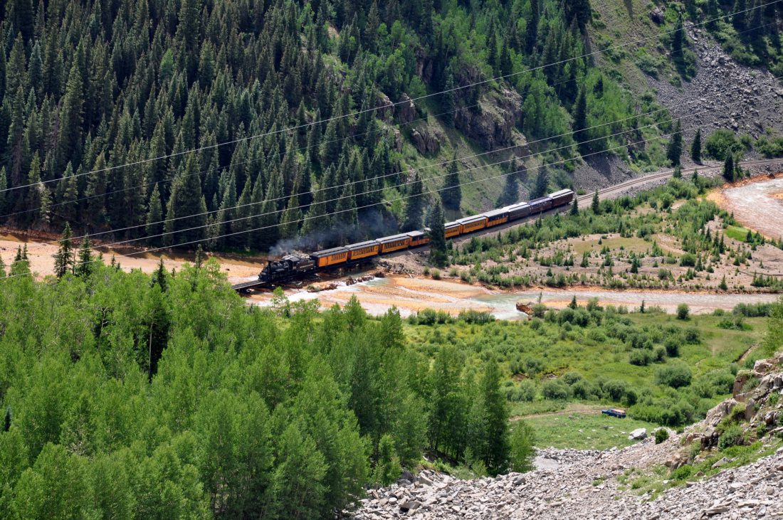 Colorado : Durango & Silverton Narrow Gauge Railroad