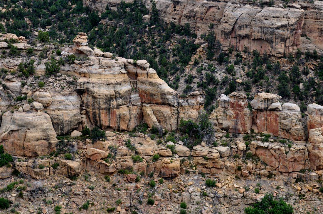 Mesa Verde : Trail to Step House