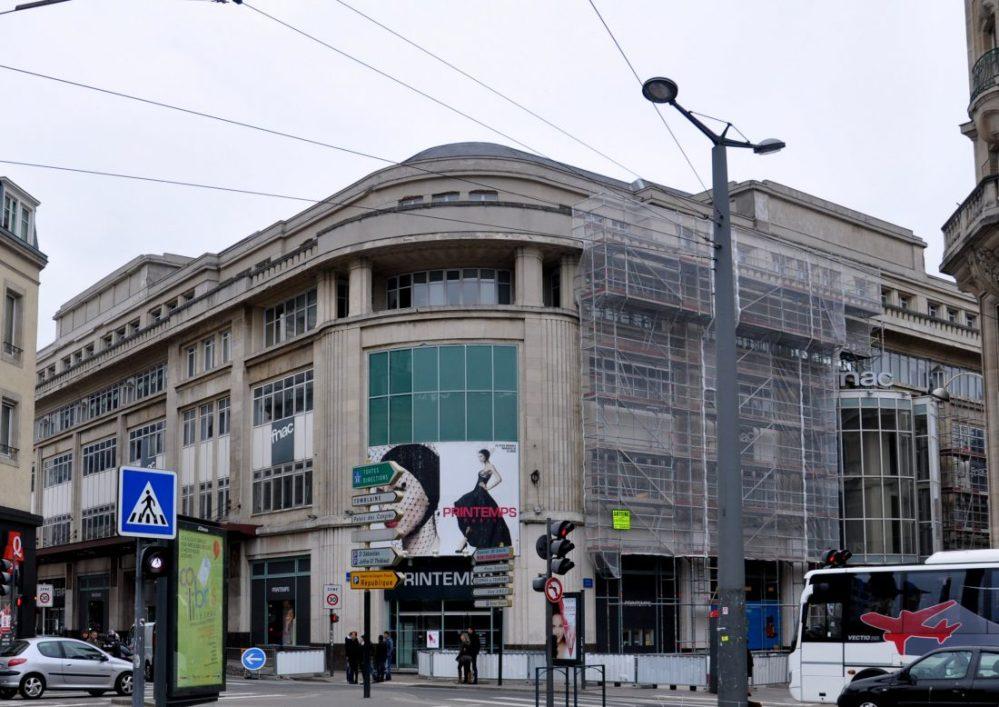 Nancy Art Nouveau : Printemps/ Magasins Réunis Pierre le Bourgeois (1925) Adresse :2 avenue Foch