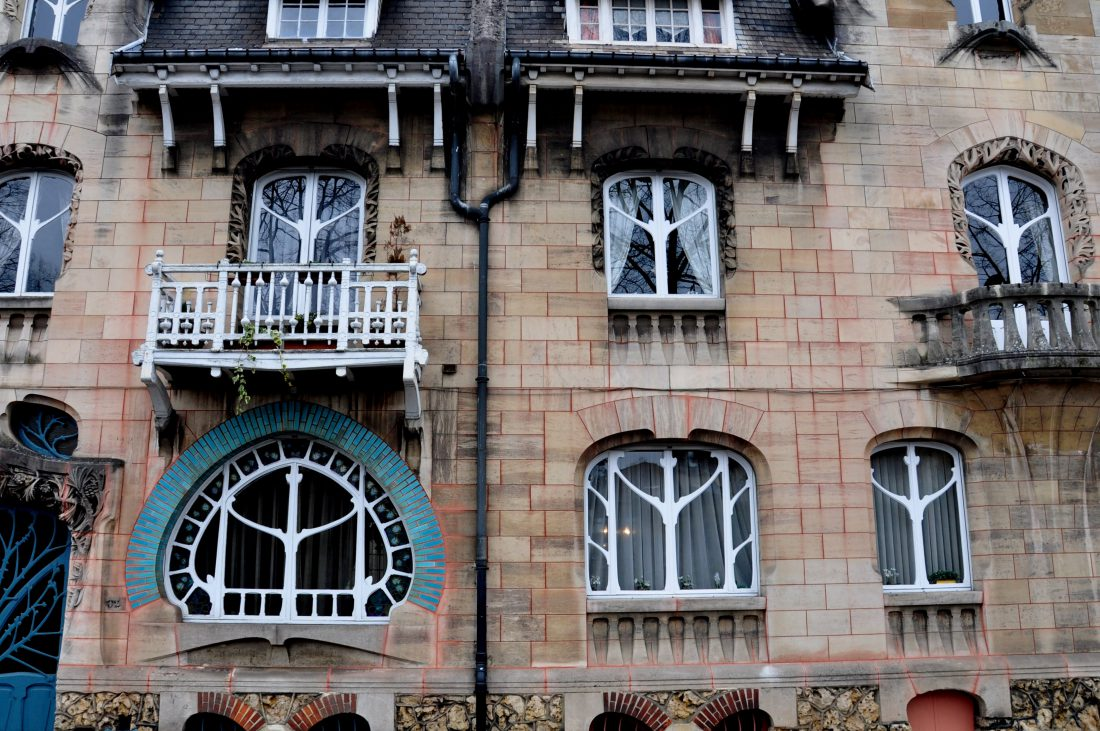 Nancy Art Nouveau : Maison Huot