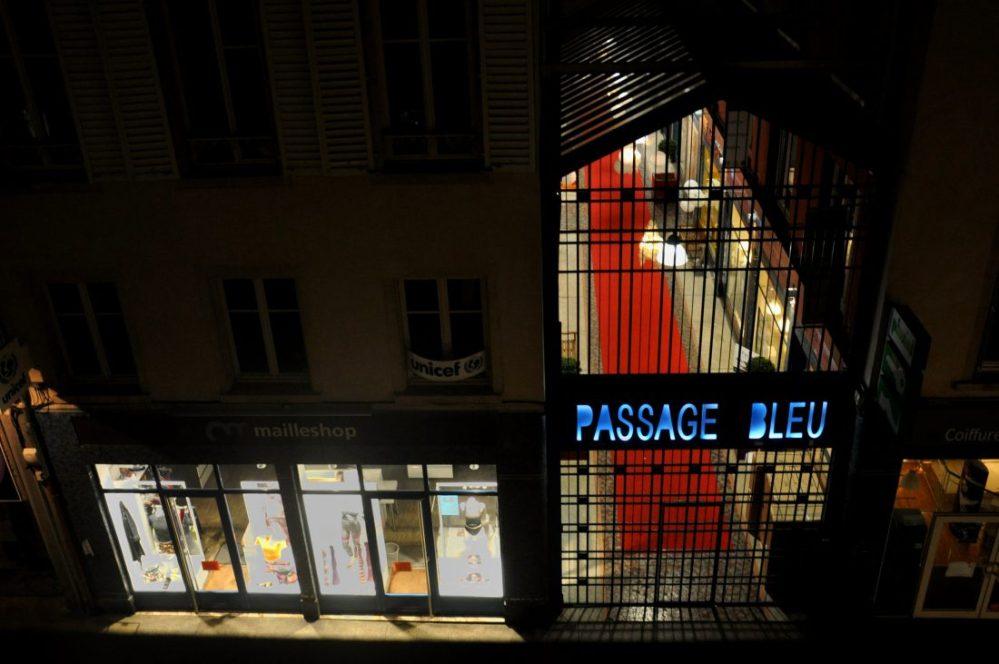 Nancy Art Nouveau : Le Passage Bleu