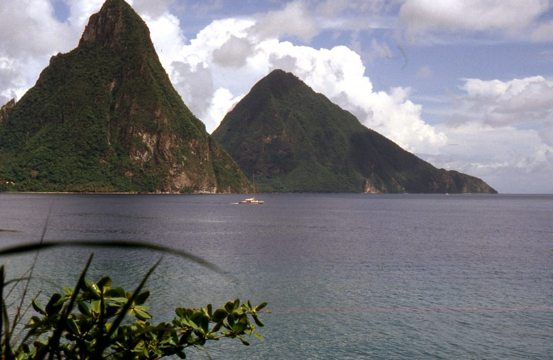 Sainte Lucie : Pitons