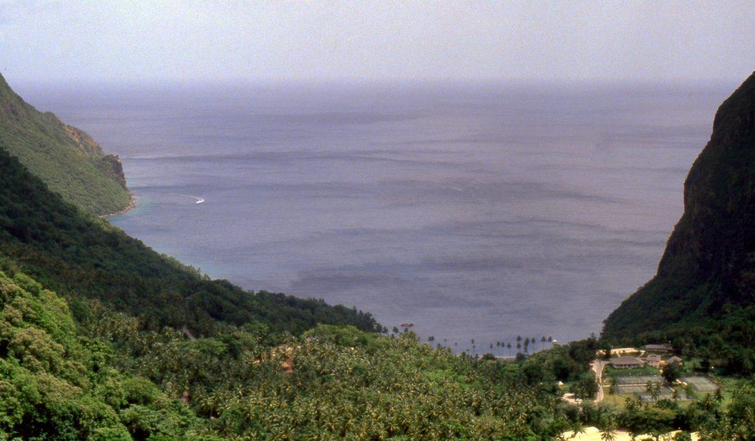 Sainte Lucie : Anse Chastanet