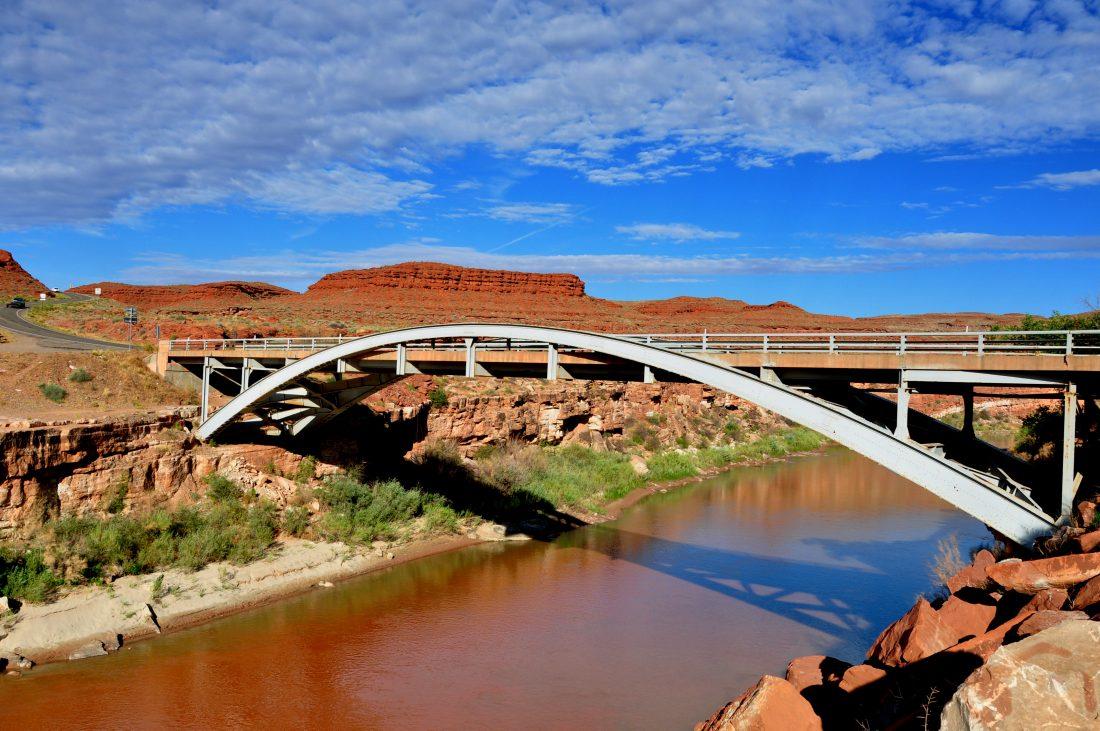 Utah : Mexican Hut Bridge