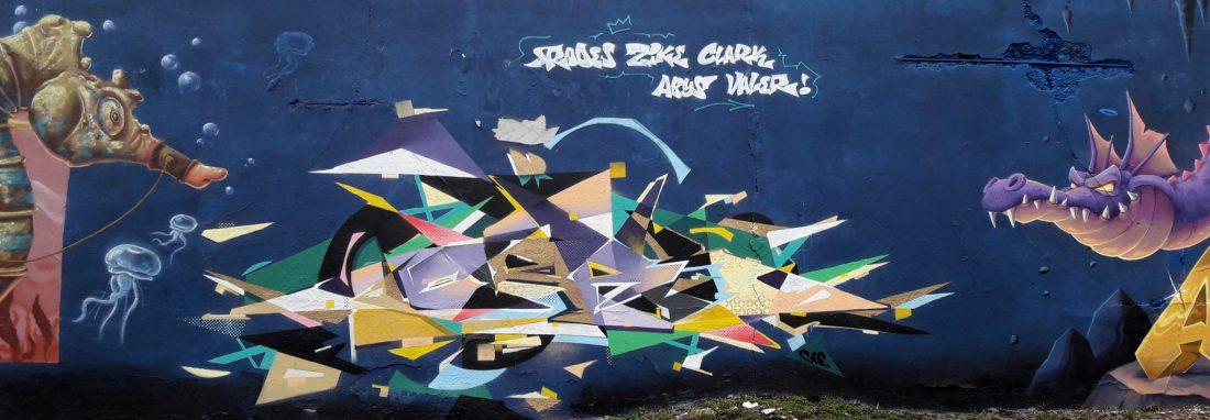 Nancy Street Art : voie ferrée saint-Georges