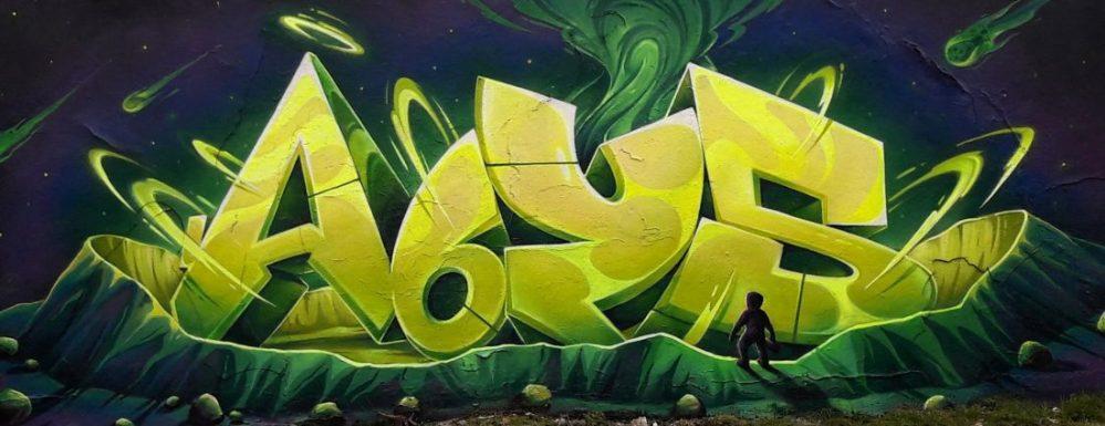 Nancy Street Art :voie ferrée saint-Georges (Radioactivty Abys)