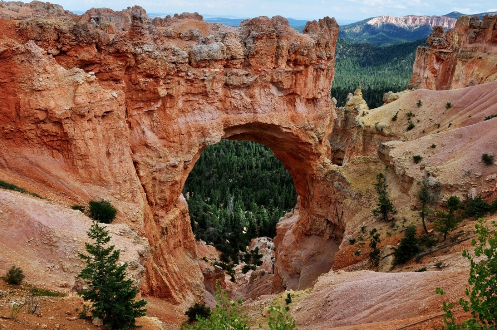 Bryce Canyon : Bryce Natural Bridge