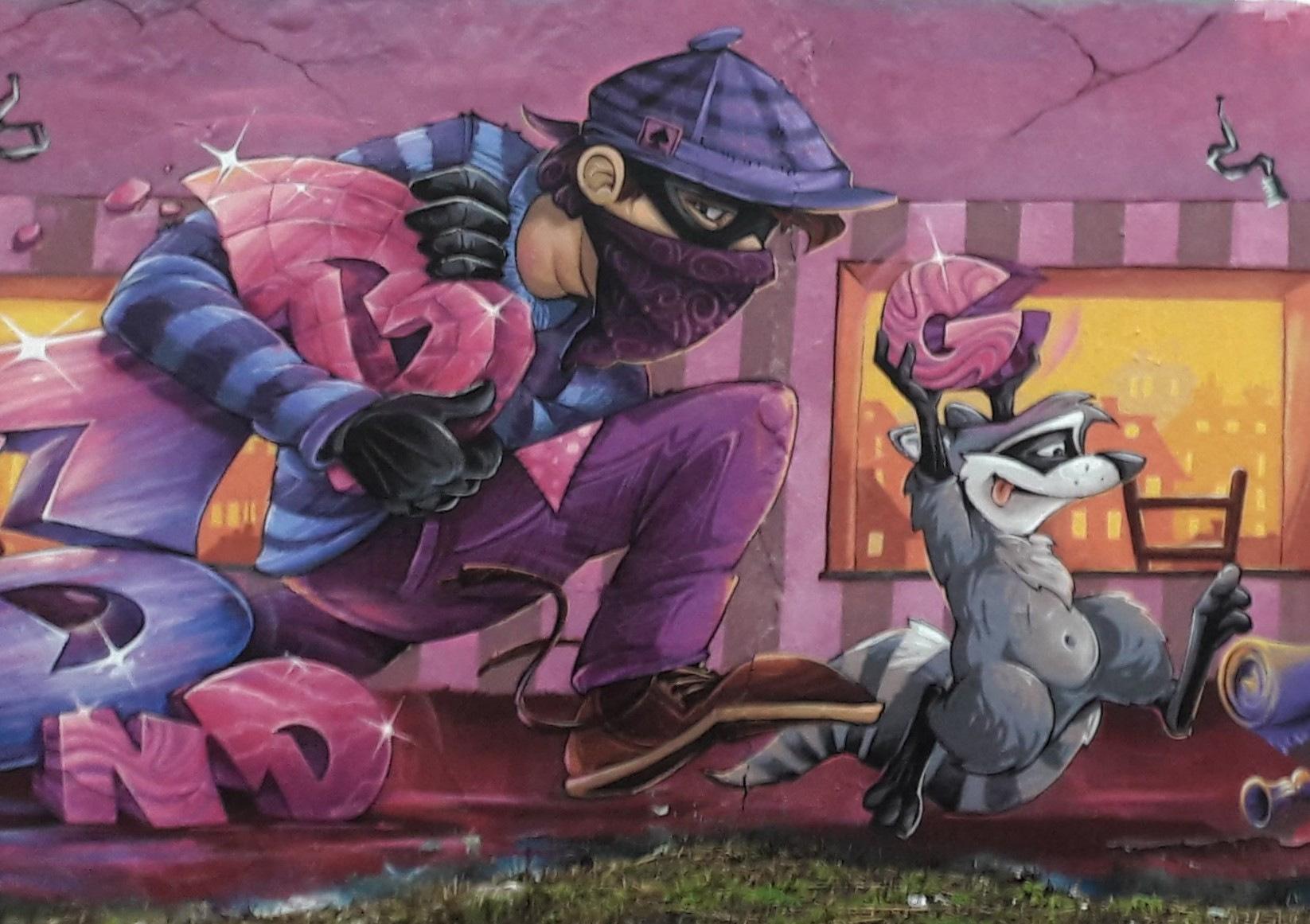 Nancy Street Art :voie ferrée saint-Georges (Abys)