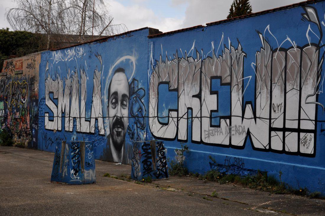 Nancy Street Art : Chemin de Malzéville