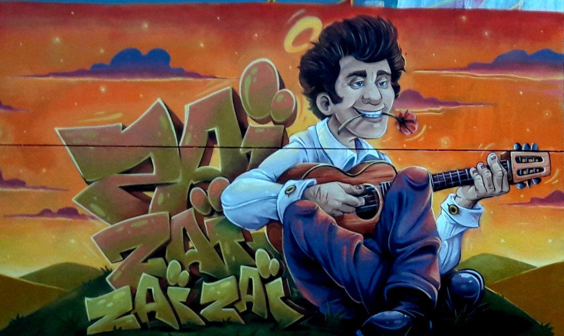 Nancy Street Art : voie ferrée saint-Georges (Osmoz Colours)