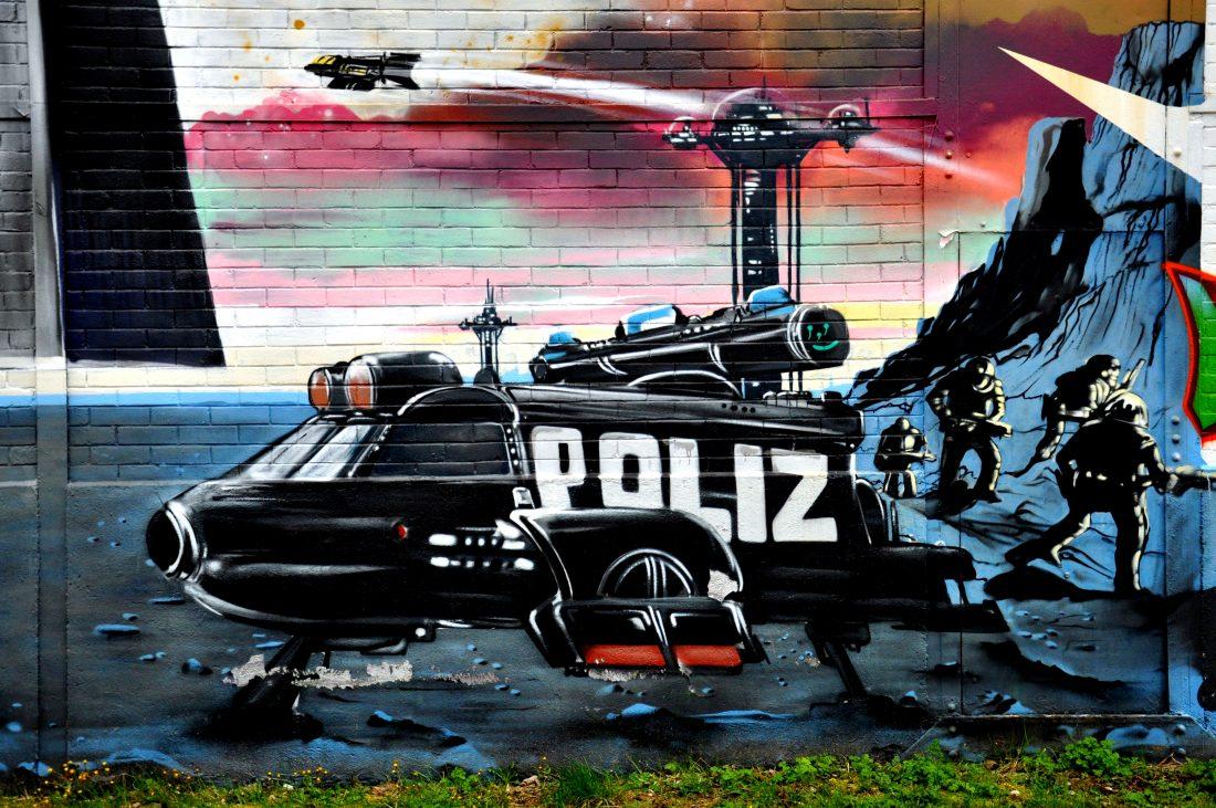 Nancy Street Art : Chemin de Malzéville Valerian