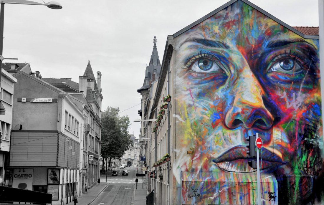 Nancy Street Art : Fresque de David Walker,