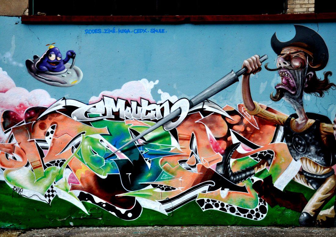 Nancy Street Art : Chemin de Malzéville (Moulin Crew)